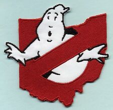 Ohio State - Ghostbusters No Ghost Costume Iron-On Patch