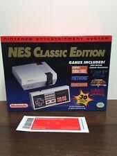 New 2016 Nintendo NES Classic Edition w/30 games