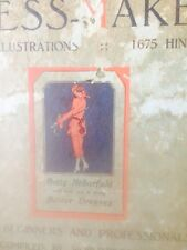 The Better Dress-Maker.  Bebarfeld's Illustrated Dressmaking Guide 1927