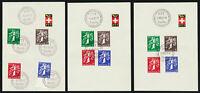 SCHWEIZ 1939, PTT-Sammelblätter 14, SBK CHF 450,-