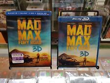 Blu Ray 3D - Mad Max: Fury Road (2015) - Slipcover - SEALED