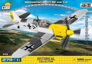 COBI  Messerschmitt BF 109 F - 2  / 5715 /  blocks WWII  German fighter