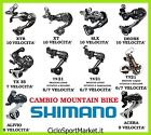 Cambio SHIMANO Mountain Bike 6/7/9/10 Vel XT XTR SLX DEORE TX TY ALIVIO ACERA