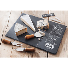 Cheese Serving Set Judge Kitchen Slate Cheese Board Cheese Knife PP563