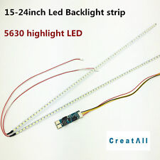 "10sets Universal Highlight LED Backlight Lamps Update kit 15""-24"" led strip kit"
