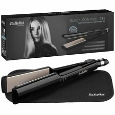 BaByliss Sleek Control Hair Straightener Wide Nano Ceramic Plates 235°C - 2179U