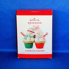 Hallmark - 2013 A Couple of Cupcakes - Keepsake Christmas Ornament - NEW