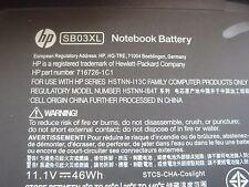Batterie D'ORIGINE HP SB03XL EliteBook 725 740 745 750 755 820 840 850 NEUVE