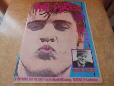 HOT PRESS 1/3/85. ELVIS PRESLEY,EVERYTHING BUT THE GIRL,AUTO DA FE.