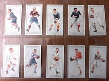 PROMINENT RUGBY PLAYERS -  F.& J. SMITH - Complete Set of 25 - 1924 - EX