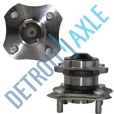 Pair: 2 New REAR 00-05 Toyota Echo Complete Wheel Hub & Bearing Assembly No ABS