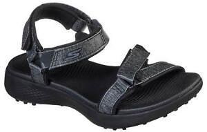 Skechers Women's Go Golf 600 Golf Sandal 17015BBK Black Ladies New