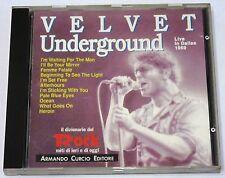 VELVET UNDERGROUND  - Live in Dallas 1969 - ARMANDO CURCIO EDITORE