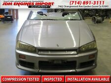 Nissan Skyline GT-T R34 ER34 Front Clip Cut Automatic RB25 Neo Engine
