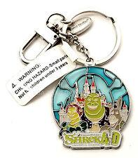 New Universal Studios DreamWorks Shrek 4-D Shrek Fiona Donkey Keychain