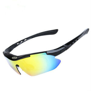 Cycling Polarized sunglasses photochromatic sunglasses Sport goggles with 5 lens