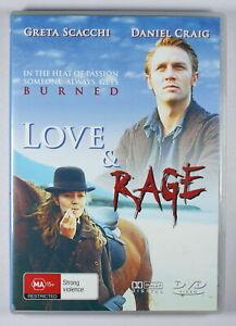 Love & Rage DVD FREE POST