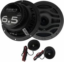 Massive Audio EMK6 V2 - 6.5 Inch, Component Kit Speakers