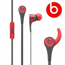 Beats by dre Tour 2 In-Ear Casque Red Sports In-Line Mic Wingtip GENUINE NEW