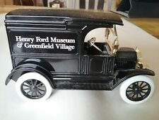 ERTL 1995 Collectable Ford Model T Die Cast Vehicle Henry Ford Museum, Bank