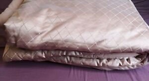 """Cascade Home Chatsworth Blush Pink Comforter Duvet Cover Size 260"""" x 240"""" - Used"""