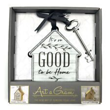 NEW Art a Gram Collectibles it's good to be home hanging house wall decor gift