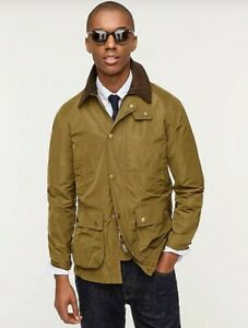 NWT Barbour Bedale Nylon Jacket Sz 40S Made for Japan x J Crew Collection $495