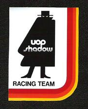 UOP Shadow Racing Team Sticker, Can-Am Vintage Sports Car Racing Decal