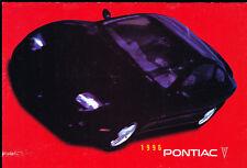 1996 Pontiac 20-page Canada Car Brochure - Firebird Trans Am Grand Prix Sunfire