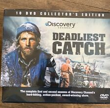 DEADLIEST CATCH COMPLETE FIRST & SECOND SEASON - DVD NEW(Sealed)