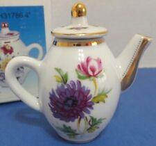 NIB Mini Porcelain Handcrafted Teapot