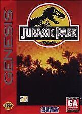 Jurassic Park (Sega Genesis, 1993) GAME ONLY WORKS WELL NES HQ