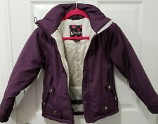 Turbine Boardwear Girls Ski and Snowboarding Winter Jacket Zipper Vented Purple