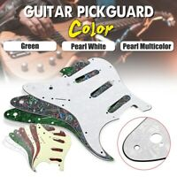 SSS Scratchplate 3ply 11-Hole Pickguard For Fender USA/MEX Strat