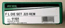 Rcbs Full Length Die Set .223 Rem/5.56 X 45/5.56 Nato, New. Pn 11101