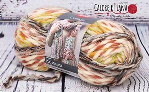 Lana grossa COLLAGE Red Heart adatta per arm e finger knitting