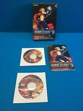 Anime Studio Pro 9 PC / MAC Discs Hybrid ASP90HBX2