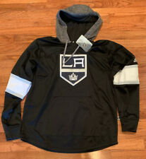 adidas Men's Los Angeles Kings  Platinum Jersey Pullover Hoodie Large NWT $100