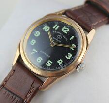 Vintage favre leuba mens winding  swiss made working wrist watch 100 %authentic