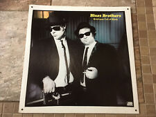 "BLUES BROTHERS (Belushi & Aykroyd) ""Briefcase Full Of Blues"" Record Store Poster"