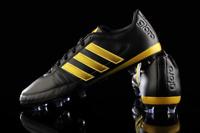 Adidas Gloro 16.1 FG Leather Football Boots Black/Gold S42168 (UK Size 3.5/4)