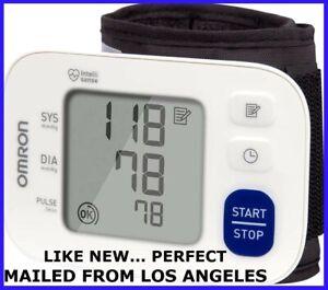 OMRON  3 SERIES  WRIST  BLOOD PRESSURE MONITOR  BP6100  MailedFrom Los Angeles