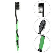 4Pcs/Pack Double Ultra Bamboo Charcoal Nano Toothbrush Bamboo Tooth brush