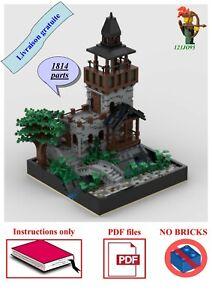 Lego ® Château Mur//Mur-Pour Chevalier//Pirate//Western