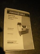 PORTER-CABLE BN200C 2-Inch 18GA Brad Nailer Instruction Manual **