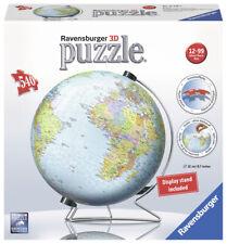 Ravensburger 3D Rompecabezas De La Tierra-Mundo Globo y Display Stand - 540 piezas 12436