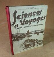 SCIENCES ET VOYAGES -  1934/35 N° 781 803 RELIÉS - SOCIETE PARISIENNE D'EDITION