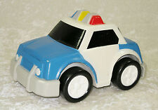 COMPOSITE WOOD/ PLASTIC POLICE CAR TOY