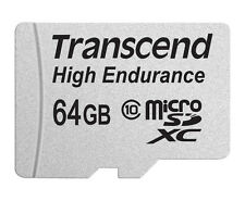 Transcend 64gb High Endurance MicroSD Card TS64GUSDXC10V With Adapter