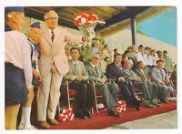 uralte AK X. Weltfestspiele Erich Honecker Roberto Viezzi Willi Stoph 1974 //28